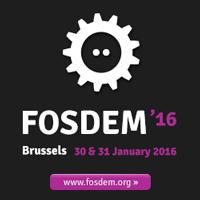 FOSDEM 2016 logo