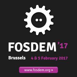 FOSDEM 2017 logo